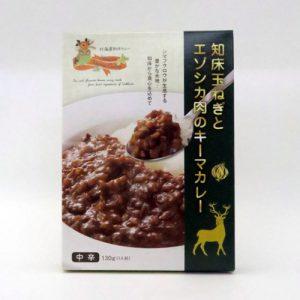 知床玉ネギとエゾシカ肉のキーマカレー130g